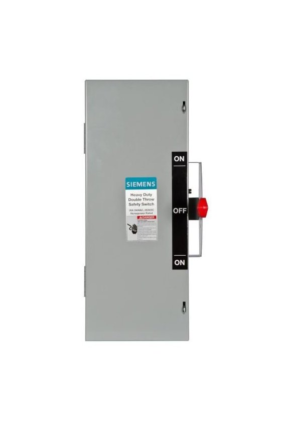 DTNF325 Interruptores de seguridad de baja tensión Siemens para protección de circuitos de servicio pesado