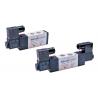 """VS52A102-AP Valvula 5 vías 2 posiciones solenoide simple puerto 1/4"""" 220VCA"""