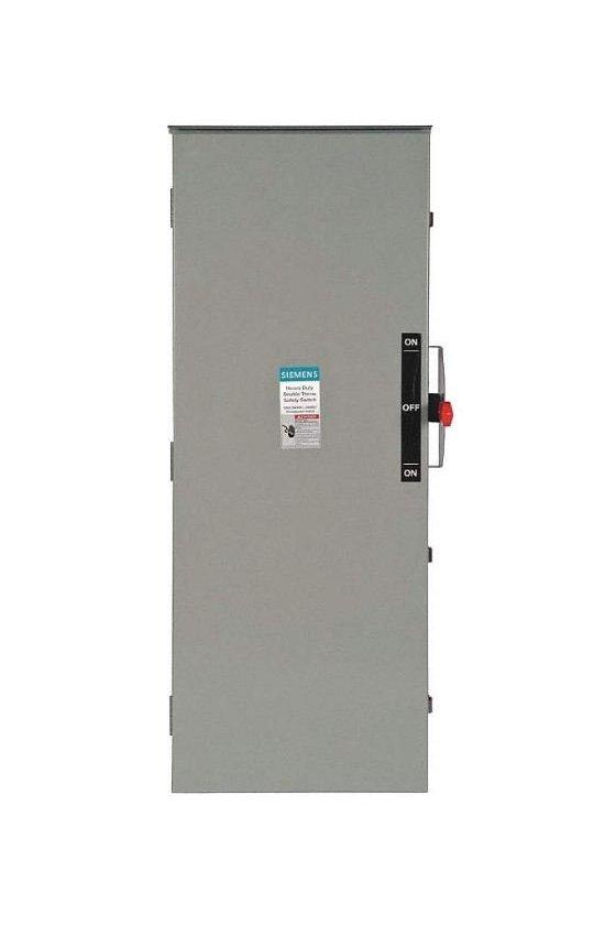 DTNF327 Interruptores de seguridad de baja tensión Siemens para protección de circuitos de servicio pesado