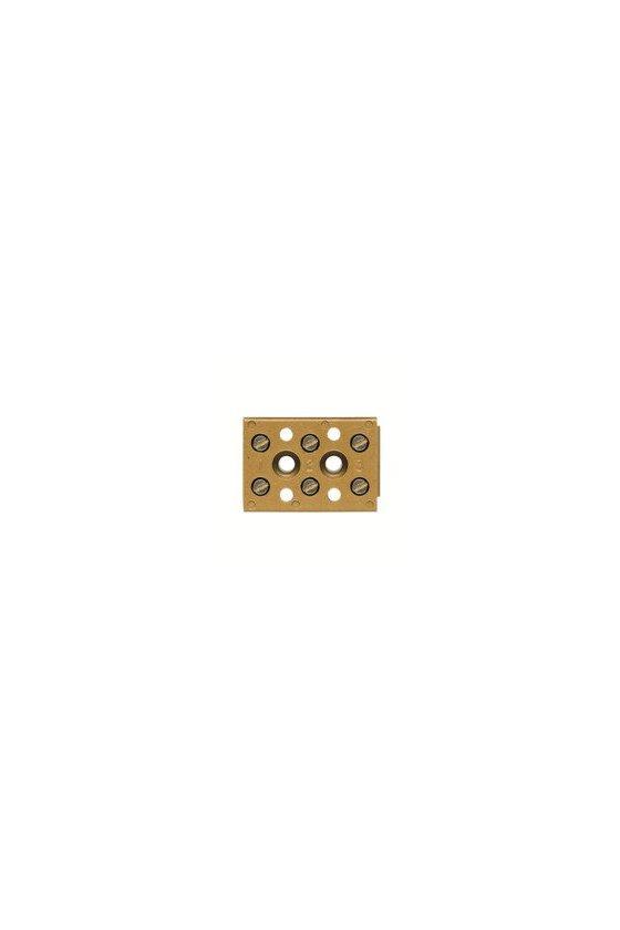 0625120000 Serie SAK Regletas de bornes multipolares  4 mm² BK 4 CRN