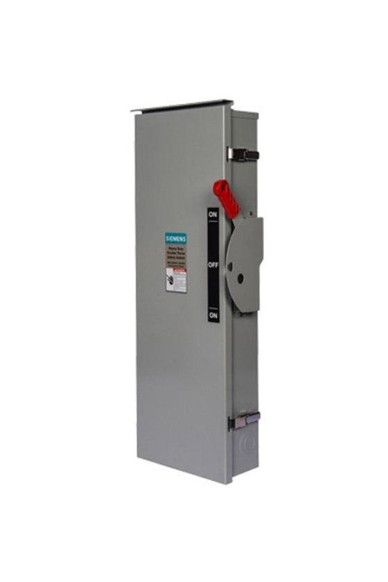 DTNF366 Interruptores de seguridad de baja tensión Siemens para protección de circuitos de servicio pesado