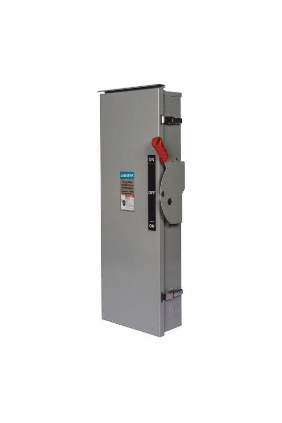 DTNF367 Interruptores de seguridad de baja tensión Siemens para protección de circuitos de servicio pesado