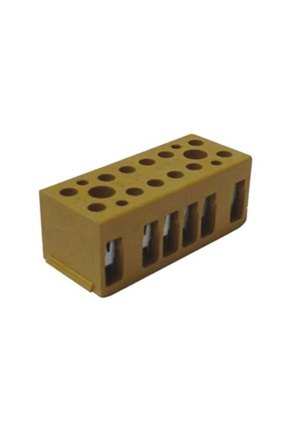 7906080000 Serie SAK Regletas de bornes multipolares 4 mm² BK 4/E