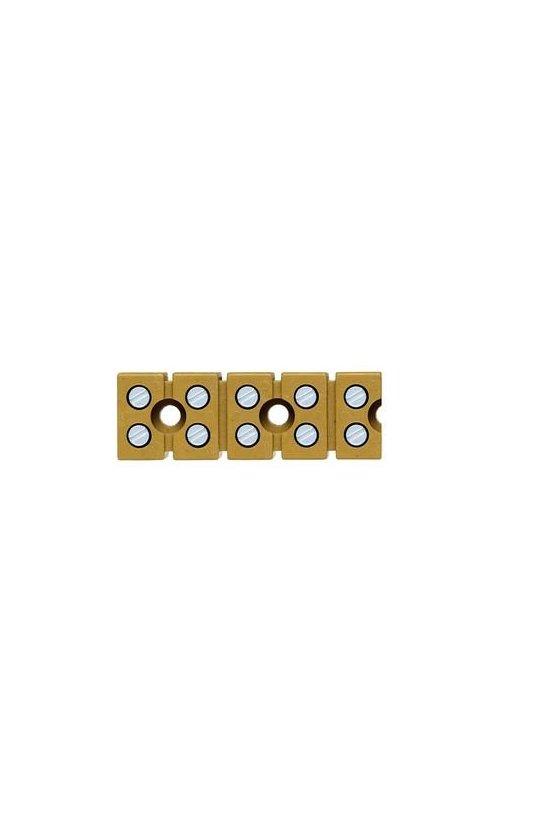 7906240000 Serie SAK Regletas de bornes multipolares 6 mm² MK 6/4/E