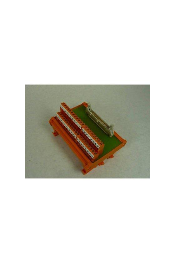 8005191001 Interfaces con conector SUB-D según IEC 807-2 Conexión brida-tornillo RS SD25B UNC 4.40 LP2N