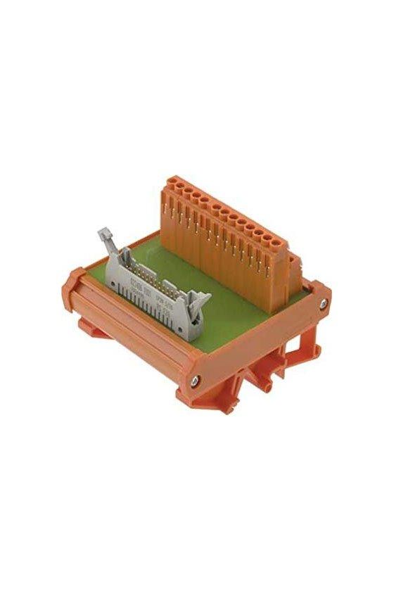 8012960000  Interfaces con conector cable plano según IEC 60603-13 Conexión por tornillo (compacto) RS F60 LP3R 3/63