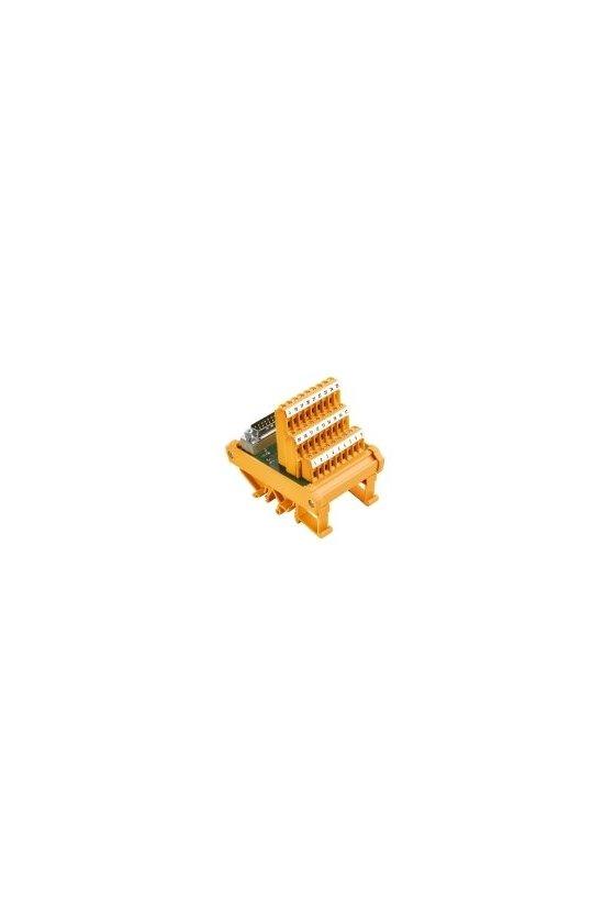 8019910000  Interfaces con conector SUB-D según IEC 807-2 Conexión por tornillo (compacto) RS SD37B LP3R