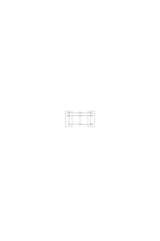 8022911001 Interfaces con diodos RSD 20 LP/LP