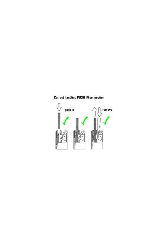 8921080000 2 contactos conmutados de 16mm y 27mm de ancho RCM de 27 mm de ancho Conexión PUSH-IN RCMKITP-I 24VDC 2CO LD