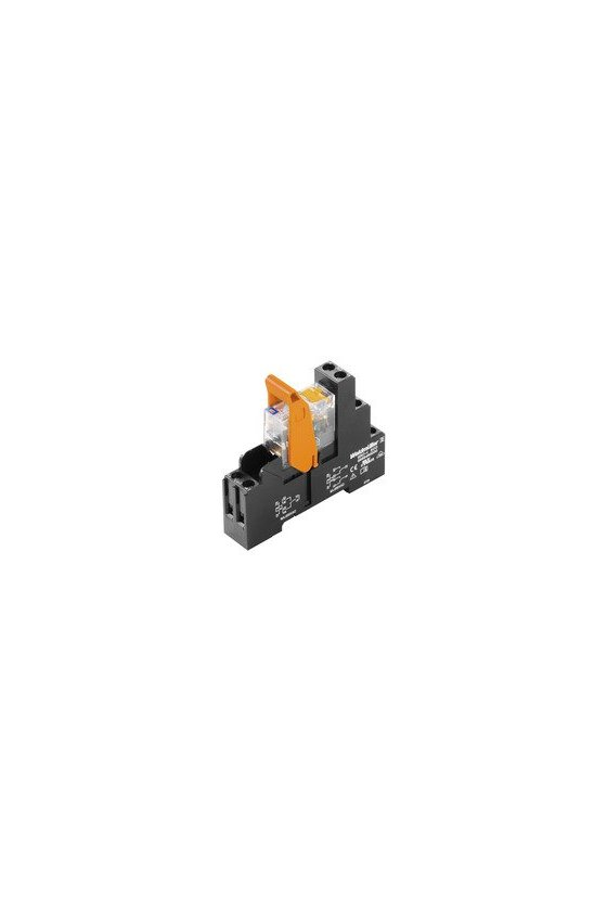 8897080000 2 contactos conmutados de 16mm y 27mm de ancho RCI de 16 mm de ancho Conexión por tornillo RCIKIT 115VAC 2CO LD/PB
