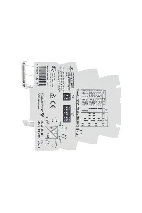 8594810000 Procesamiento de señales analógicas MICROSERIES MAS DC/DC select