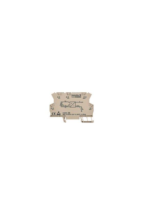 8604420000 MCZ: la solución compacta Convertidor de medida de temperatura MCZ PT100/3 CLP 0...150C