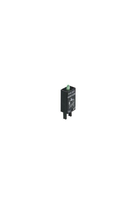 8713720000 acopladores por relés con sistema de contactos forzados componentes sueltos LED/diodo RIM 2 6/24VDC GN