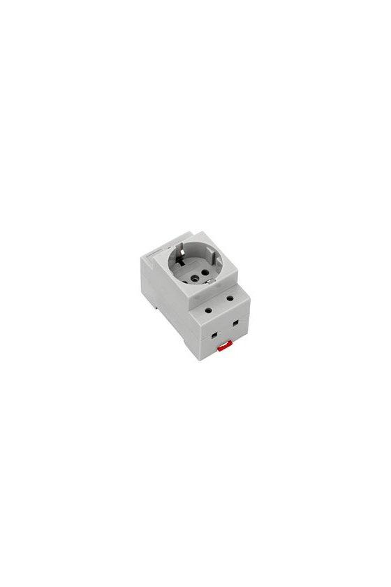 8734580000 Toma de corriente para armario de distribución Schuko TS35