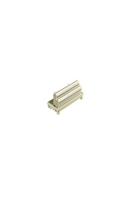 8155630000 Interfaces con conector SUB-D según IEC 807-2 Conexión por tornillo (RS-45) RS SD37B UNC LPK2