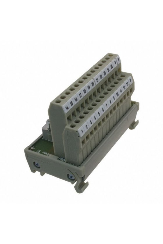 8258980000 Interfaces con conector cable plano según IEC 60603-13 Conexión por tornillo (RS-45) RS F14 LPK 2H/16