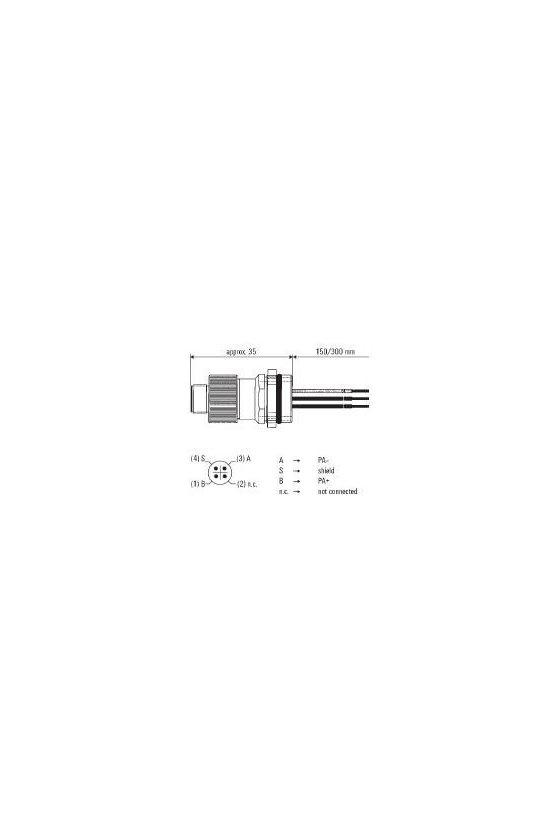 8425930000 Conectores de montaje Conector posicionador  POS-4P M12 M20 150mm