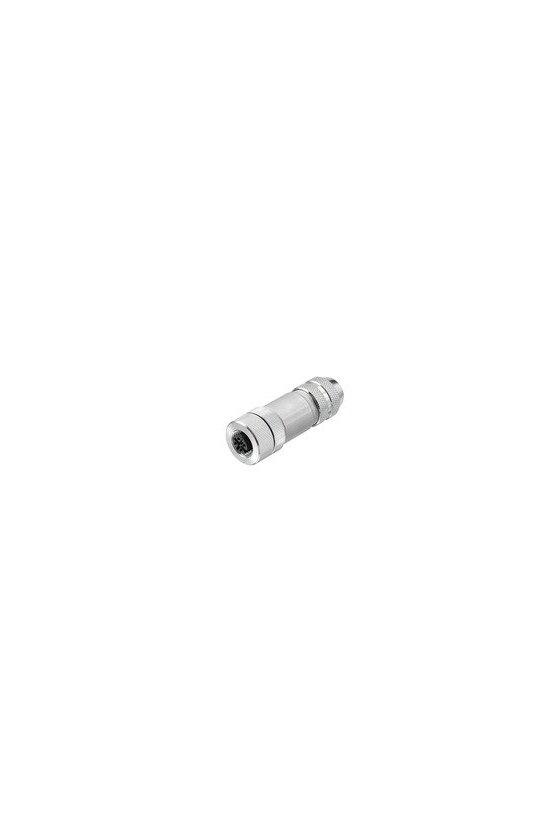 8426220000 Conector borne brida-tornillo RectoFBCON M12 4P FM EMC