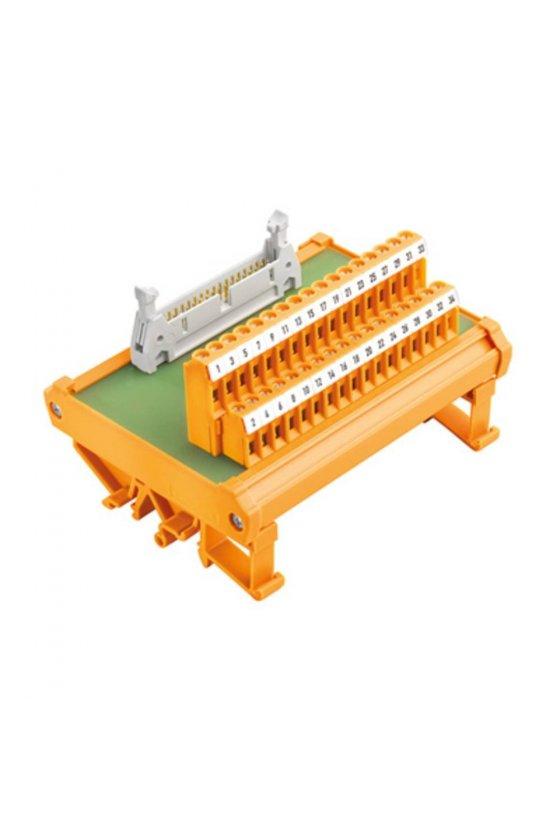 8537180000 Interfaces con conector cable plano según IEC 60603-13 Conexión directa RS F26 Z
