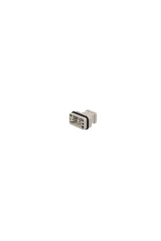 1003210000 Serie HQ - Conectores pequeños y potentes Conexión crimpada grupo HQ 17 polos HDC HQ 17 MC