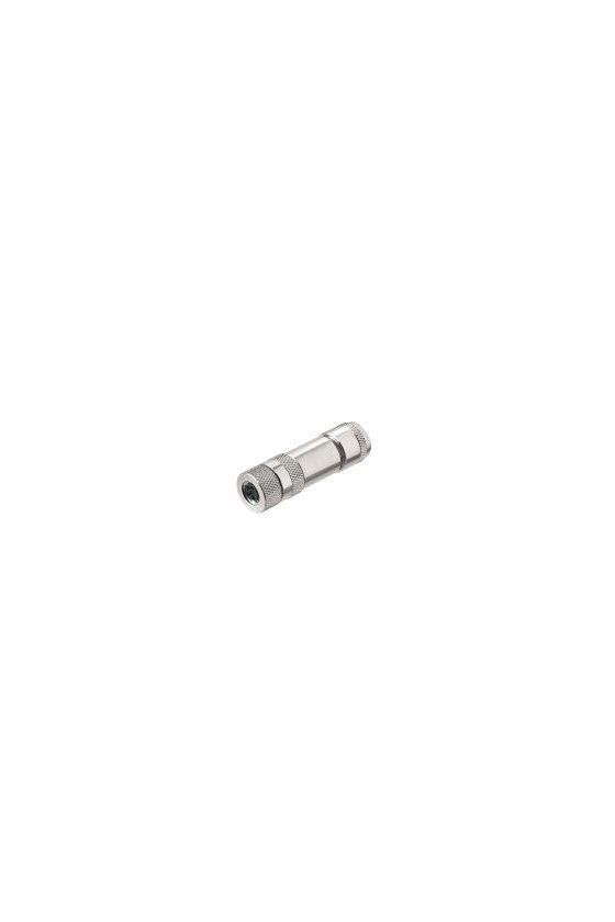 1010090000 Conector borne brida-tornillo Recto SAIBM-M8-4P-(IF)