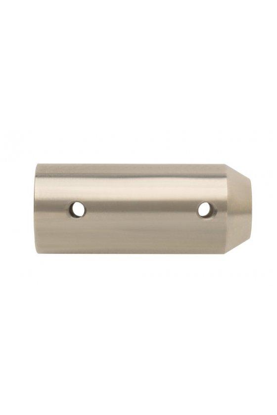 299-0004 Eje sólido, acoplador de montaje lateral de acero inoxidable GRSS-1