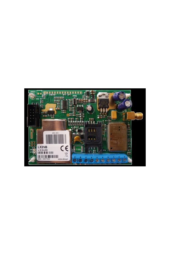 Transmisor GPRS con modem de 4 bandas LX2N-B