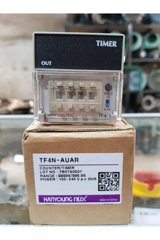 Timer Pantalla LCD, Salida de relé o transistor TF4-AUAR