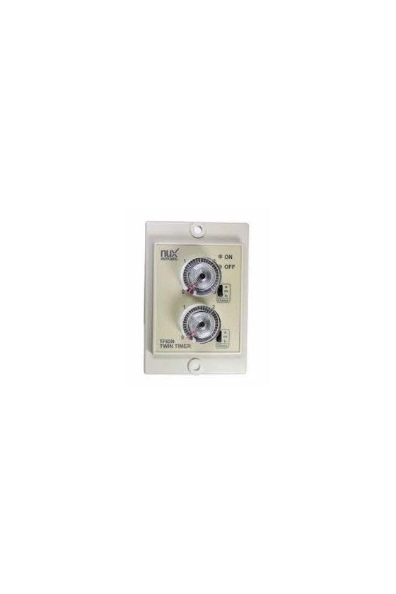 Temporizador ON-OFF doble tiempo, Tipo de exposición (Seleccionar con tipo de panel T48N) TF62NE-06D