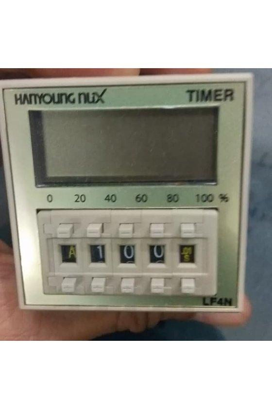 Temporizador digital con pantalla 48(W) X 48(H) ㎜ LCD LF4N