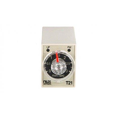 Temporizador análogo mini de sincronización múltiple T21-14D24