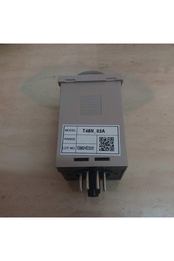 Temporizador digital, método de configuración simple T48-NE30C