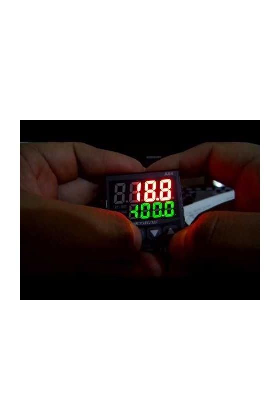 Multímetro digital Amperímetro de CA (RMS) Relé (HI, GO, LO), salida del valor medido (4 - 20 ㎃ DC) MP3-4AAR0A