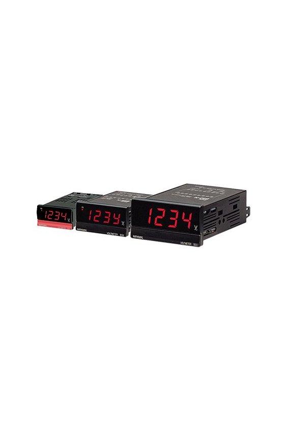 Panelmeter digital Solo para indicación Amperímetro de CA (AC) BS3-ND204