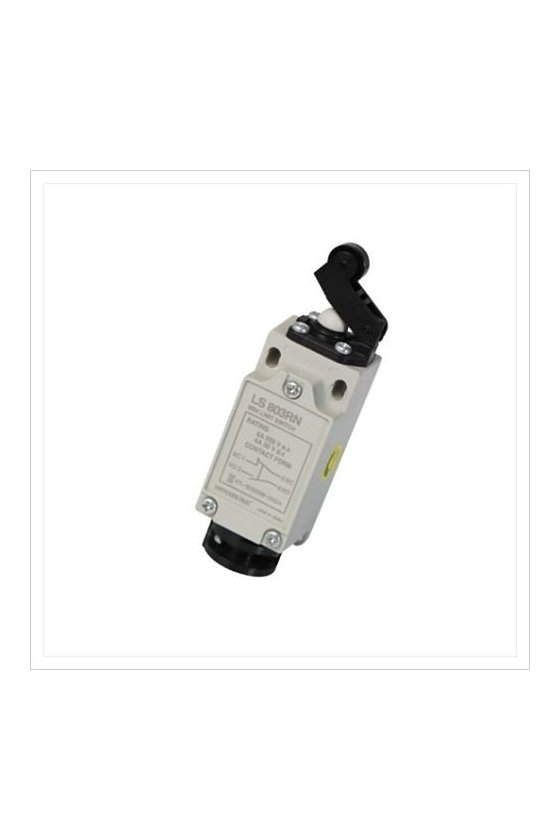 Mini Limit Switch con embolo de plástico  1NA+1NC 6amp 250vac HY-LS803RN