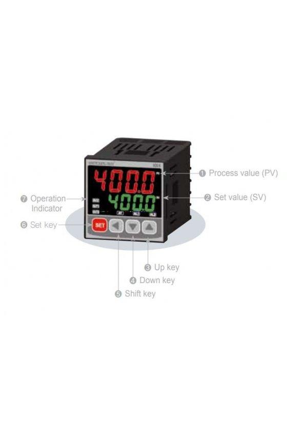 Control de temperatura  48x24mm entrada universal ,pt100, de 1-5vcd, -10-20mV, 0-100mV , 4-20m NX-100