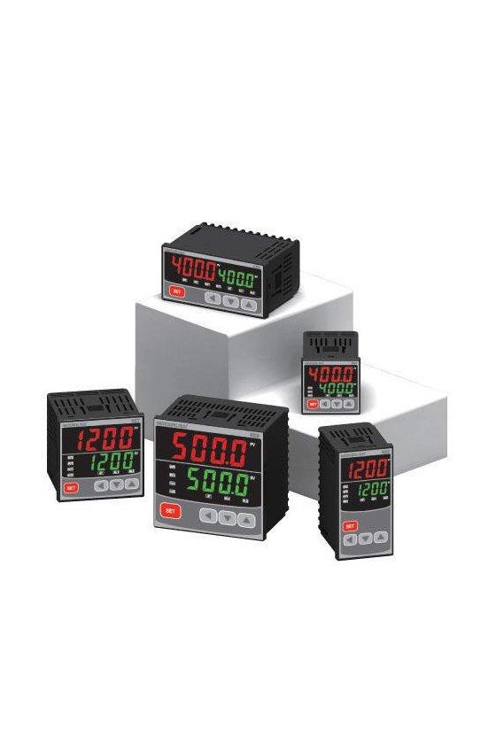 Control de temperatura  48x48 mm control de  rampa,  entrada universal ,pt100,de1-5vcd NX-400