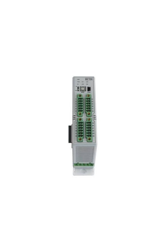 Control de temperatura modular 4 canales salida SSR de 4-20 mA ML-D4S