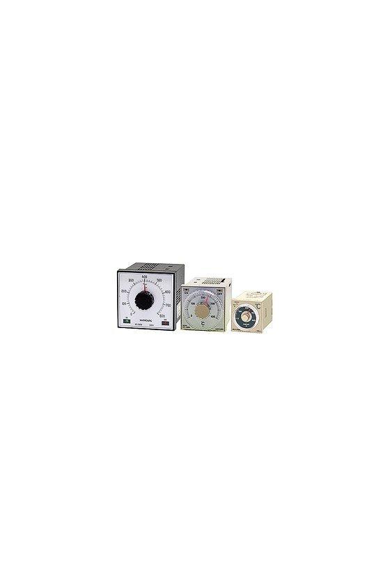 Control de temperatura analógico  0-400º  48x48 mm entrada tipo J  salida a Relay  ND4-FJMR07