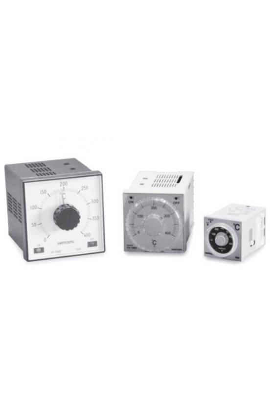 Control de temperatura análogo 0-400ºC  96x96mm entrada K salida Relay  HY-2000FKMNR07