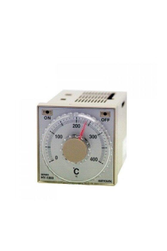 Control de temperatura análogo 0-400ºC  72x72mm entrada K salida Relay alim. 110 -220v HY-1000FKMNR07
