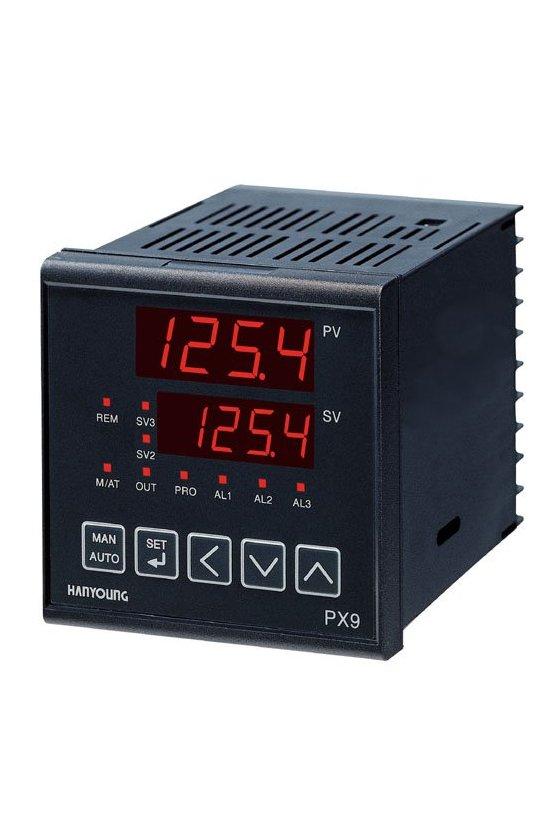Control de temperatura digital72x72mm entrada universal salida a Relay  1NA+NC  PX -700