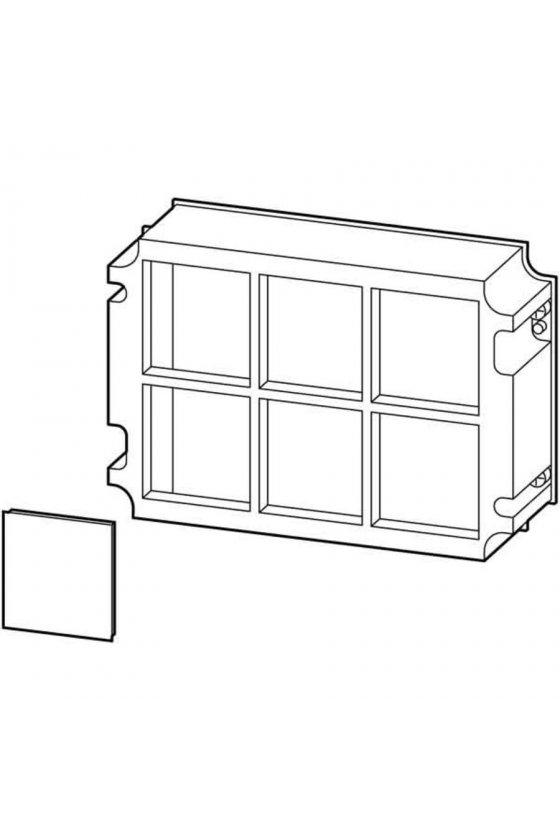 02316 Marco de retención, panel en blanco, para medir la sección del instrumento 96x96 mm HBA-4344