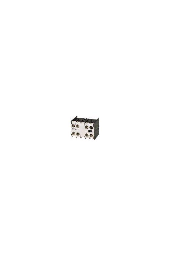 10256 Módulo de contacto auxiliar, 4 polos, 4 NC, terminales de tornillo  04DILE