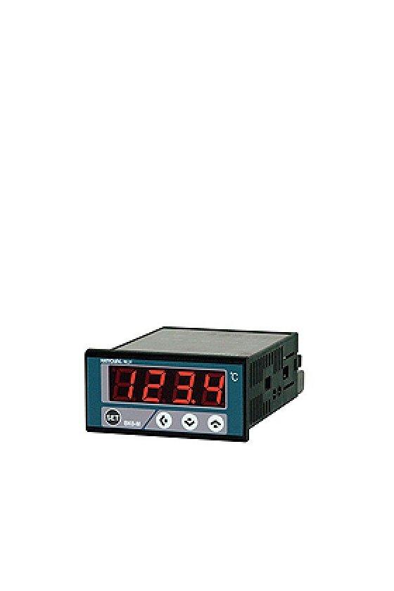 Control Indicador de temperatura 70x36mm con multientradas salida 100-240vca BK6-M0