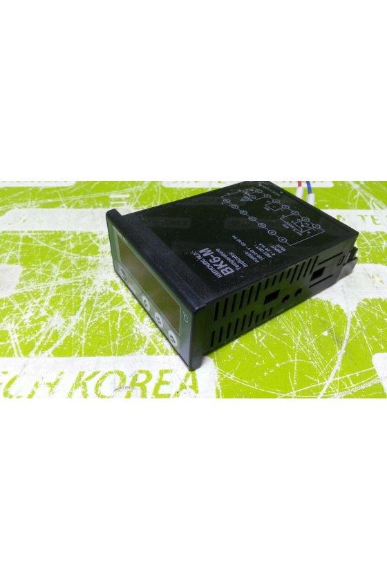 Control de temperatura 70x36mm multientradas con retransnmicion  de 4-20mA  DC  Alim 100-240vc BK6-M1