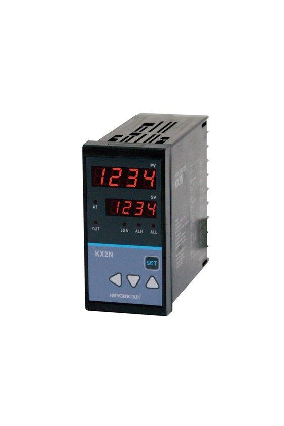 Control de temperatura digital 48x48mm salida SCR 4-20mA alarmas ALH+ALL+LBA KX-4NCCNA