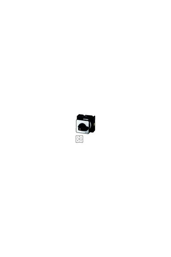 14605 Interruptores estrella-triángulo, T0, 20 A, montaje empotrado, 5 unidad (es) de contacto T0-5-25 / E