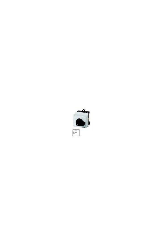 15147  Interruptor de encendido y apagado, T0, 20 A, montaje en el tablero de distribución de servicio T0-1-102 / IVS