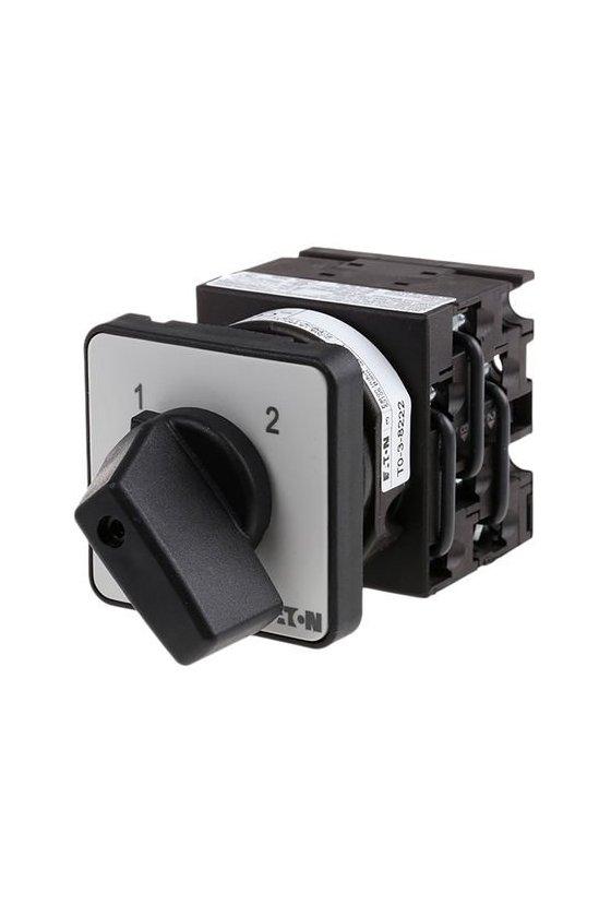 16912 Botón ON-OFF, T3, 32 A, montaje empotrado, 1 unidad (es) de contacto, Contactos: 2, 45 ° T3-1-8 / E